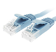 Cat 6 Male to Male Network Cable Flat Type Blue(2M)