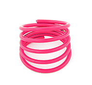 Alloy Candy Color Revolving Ring(Assorted Colors)