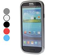 Custodia protettiva in metallo superiore per Samsung Galaxy S3 I9300 (colori assortiti)