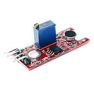 Voice Sound Sensor Module for Sound Alarm System - Red + Blue + Black