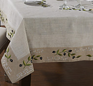 White Linen Square Table Cloths