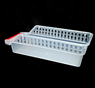 WK-Transparent Hollow Out Storage Basket for Refrigerator