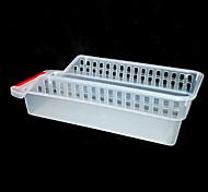 WK-transparente ahueca hacia fuera la cesta del almacenaje para el refrigerador