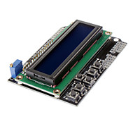 (For Arduino) Character LCD 1602 Module I/O Expansion Board LCD Keypad Shield