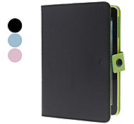 rotativo linhas mat caso w / stand para iPad mini 3, mini iPad 2, iPad mini (cores sortidas)