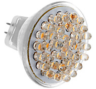 GU4 2.5W 36-LED 200-250LM 3000-3500K Warm White LED Light Bulb Pontual (DC 12V)