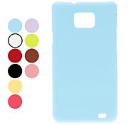 Leer Grain Hard Case voor Samsung Galaxy S2 I9100 (verschillende kleuren)