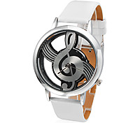 Women's Watch Fashion Hollow Musical Note Style Dial Cool Watches Unique Watches