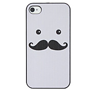 Augen Schnurrbart harter Fall für iPhone 4/4S