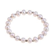 Fashion Exquisite Natural Pearls Elastic Bracelet