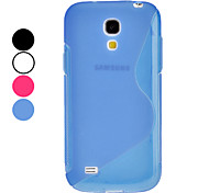 S Shape Soft Case voor Samsung Galaxy S4 Mini I9190