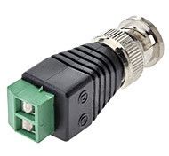 BNC Male to Female Connector Adapter Green