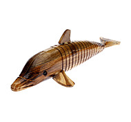 Bois Brown Dolphin Toy