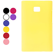 Plastic Material Protective Hard Case for LG E400(Optimus L3) (Optional Color)
