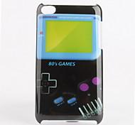 consola de juegos patrón duro caso para el iPod touch 4 (de varios colores)