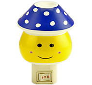 Blue Dots Mashroom LED Night Light(110V-240V)