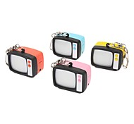 TV Shaped ABS Sleutelhanger (Randon Color)