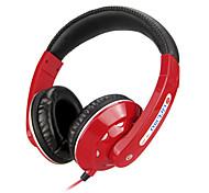 Música estéreo de 3,5 mm en la oreja los auriculares DM-3000 (Negro, Rojo, Blanco, Azul)