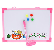 Miffy Rabbit Whiteboards with Brush ,Magnetic Stickers, Erase & Dice Set (Assorted Colors)