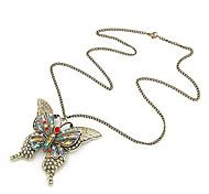 Vintage collana della farfalla