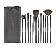 Make-up für Sie 12 schwarz hochwertigen professionellen Make-up-Pinsel-Set