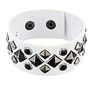 Z&X®  Rivet Leather Box Bracelet