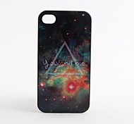 Alien Pattern Hard Case voor iPhone 4/4S