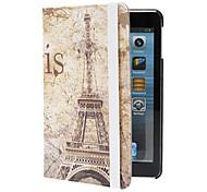retro caso torre eiffel modello w / stand per ipad mini 3, Mini iPad 2, ipad mini
