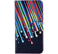 Colorful Meteor caso del modello di corpo pieno, con slot per scheda e Built-in Matte PC Back Cover per iPhone 4/4S
