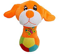 Cute Dog Standing on Ball Plush Toy for Pets Dogs (Assorted Colors)