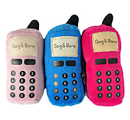 Cute Mobile phone Shaped Plush Toy for Pets Dogs (Assorted Colors)