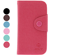 PU Leather Protective Case with Card Slot for Samsung Galaxy S3 mini I8190