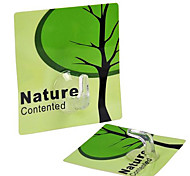 Natural Contented Series Resin Seamless Hook