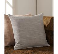 Juego de 2 Polyester Cubierta almohada decorativa Solid Tradicional