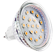 4W GU5.3(MR16) Spot LED MR16 15 SMD 2835 300 lm Blanc Chaud DC 12 V