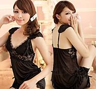 Sexy Baby Black Lace Sleepwear Lingerie