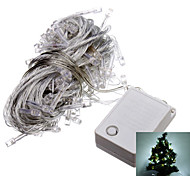 Light 10M 6W 100-LED Cool White LED Strip para el Festival de Navidad la decoración de Halloween (110)