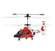 SYMA S111G 3.5 kanaals infrarood afstandsbediening Mini Helicopter met Gyro & Light (Rood, 6xAA)