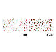 5PCS Water Transfer Printing Cartoon Nail Stickers(Assorted Colors,No.21-24)