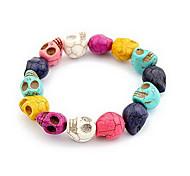 The New Burst Sell Personalized Color Skull Bracelet Fashion Bangle B10