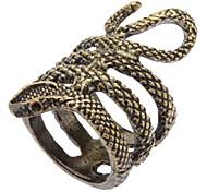 Stylish Single Snake Ring Bronze Ring