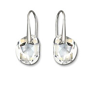 Z&X®  925 Silver Crystal Clear Drop Earrings
