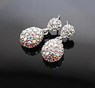 Earring Drop Earrings Jewelry Women Daily Alloy