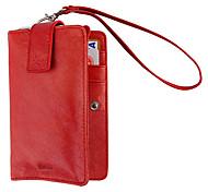 красные Бразилии импорт полный зерна кожаный чехол многофункциональный защитный футляр из натуральной кожи для iphone 4/4S