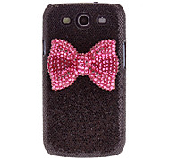 Bling brilhante Leopard Print Pattern Hard Case Capa para Samsung Galaxy S3 I9300