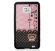 Curtain Back Case for Samsung Galaxy S2 I9100