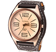 Men's Watch Dress Watch Big Tawny Dial Cool Wrist Watch Unique Watch Fashion Watch