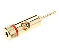 High-Quality Gold Plated Speaker Pin Banana Plug Pin Crimp Type