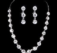 Women's Alloy Jewelry Set Rhinestone/Cubic Zirconia