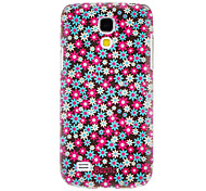 Rose Floral Pattern Hard Case for Samsung Galaxy S4 mini I9190